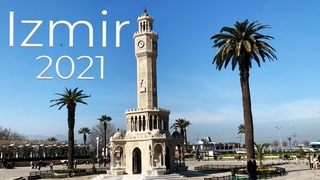 Турция в марте 2021, Измир в карантин   набережная, парк, часовая башня - Ivan Life