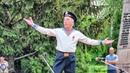 9 Мая - День Победы. Дед танцует Яблочко May 9 - Victory Day. Grandfather dancing Yablochko