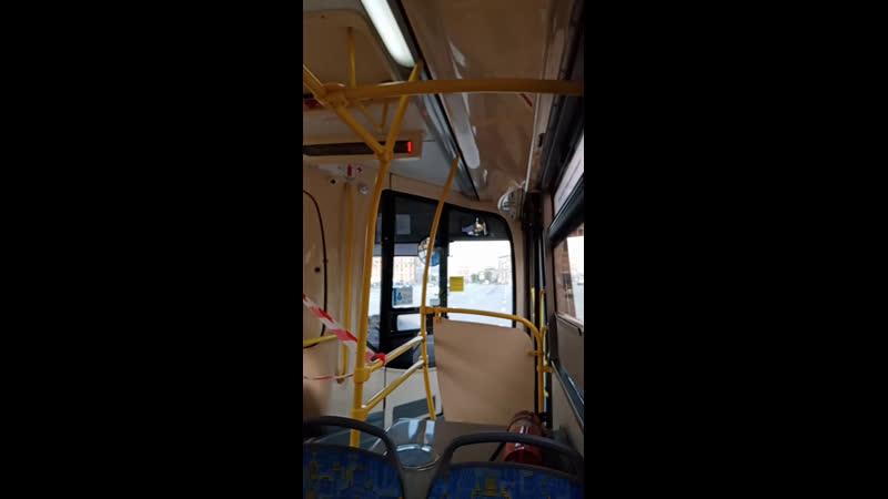 Москва. Наземный транспорт. Автобус 116