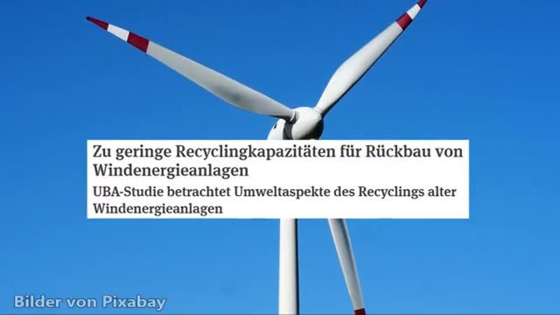 Giftiger Wind Müll Dreckige Windkraft Kommentar 360p