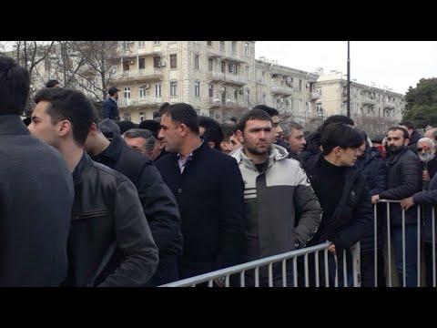 ADP nin deputatlığa namizədləri Şəhidlər Xiyabanında