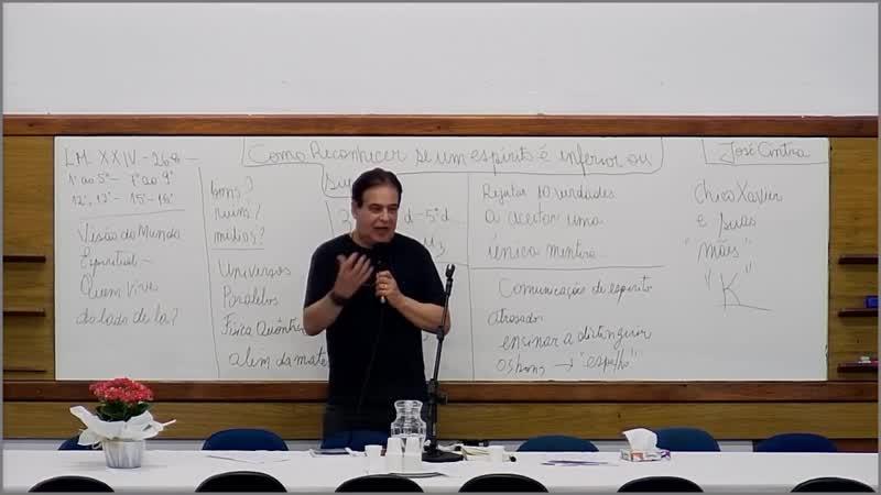 Como reconhecer se um Espírito é inferior ou superior - Início às 20h - J. A. Cintra Oliveira - SBEBM