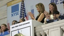 First Lady Melania Trump Rings Opening Bell At NYSE 9-23-2019