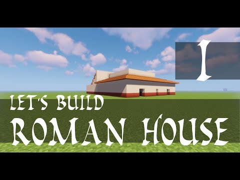 How to build a Roman house Part 1 Domus Italica Latin