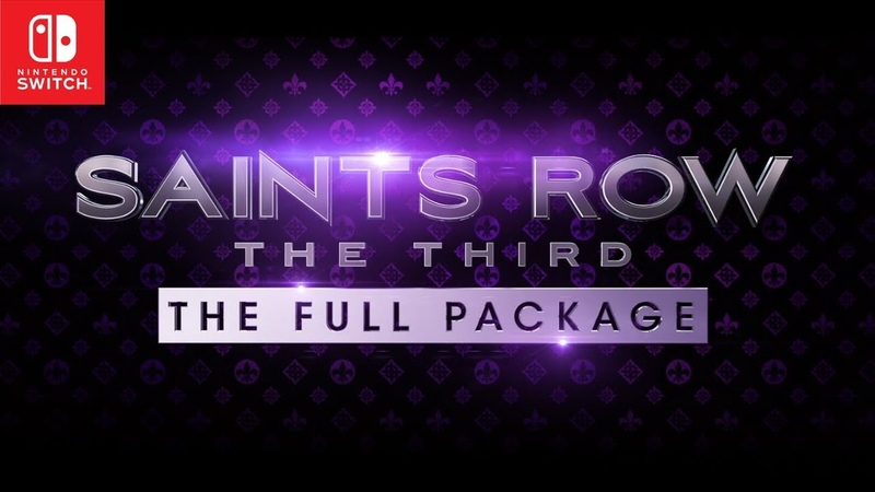 Saints Row® The Third™ The Full Package on Nintendo Switch Official