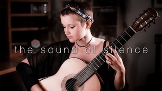 The Sound of Silence by Simon & Garfunkel, performed by Stephanie JonesЗвуки тишины Саймона и Гарфанкеля в исполнении Стефани