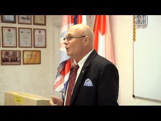 Батечко Сергей Анатольевич, профессор, доктор медицинских наук выступает с докладом о глютене