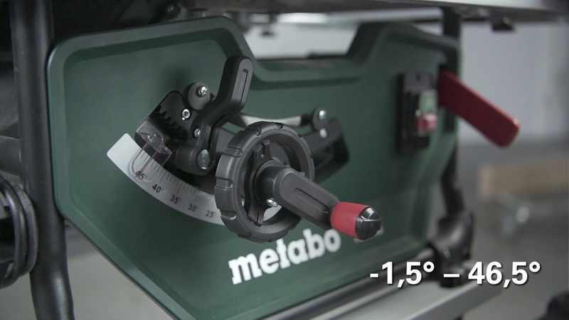 Metabo Tischkreissäge TS 254 M