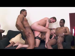 Interracial Gang Bang (Joachim Kessef, Linda Ray, Vicktoria Redd, Thomas Lee, Tony Brooklyn, Carlos)