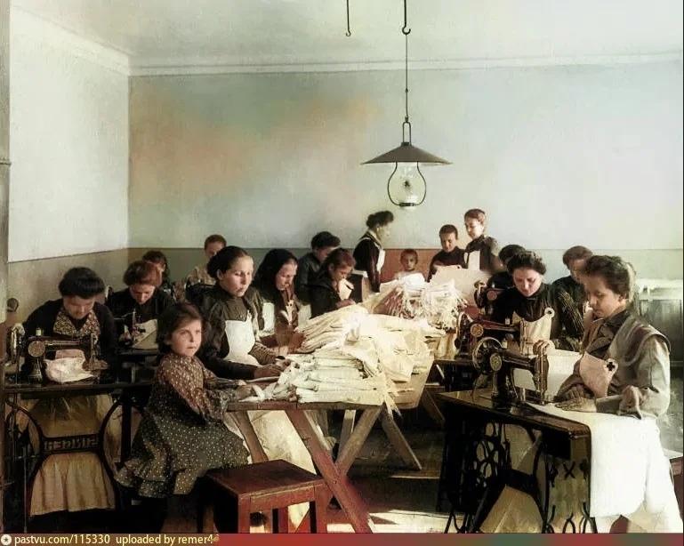 Эксклюзивные цветные фотографии Петербурга начала 20 века, изображение №4
