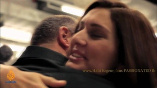 Halit Ergenc and Berguzar Korel in documentary ''Kismet''