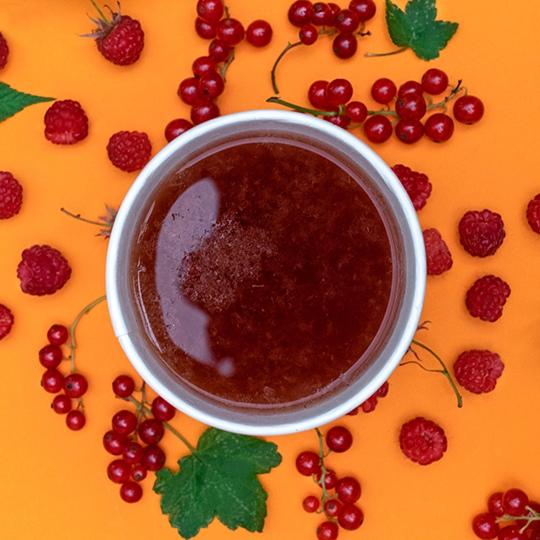 Авторские чаи: Чай малина–красная смородина