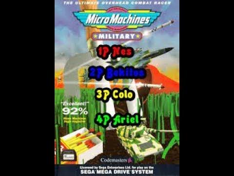 Micro Machines Military Multiplayer (2)
