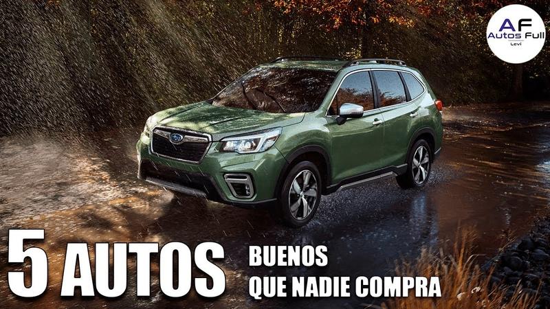 Top 5 Autos Buenos que Nadie Compra 😱😱