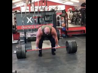 Становая тяга 410,5 кг