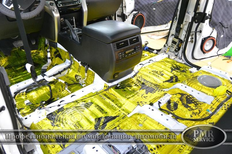 Комплексная шумоизоляция Toyota Land Cruiser 200, изображение №17