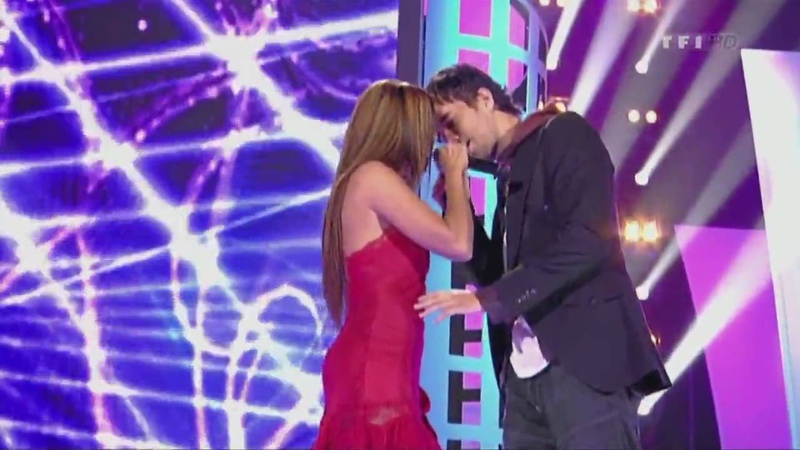 Enrique Iglesias Nadyja Tired of Being Sorry Live Les Disques D'' Or HD 2009
