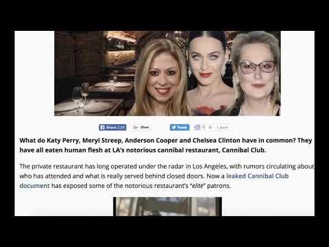 Satanismus unter uns, wir Menschen sind ihr Essen - Canibal Club das Restaurant wo die Elite isst!