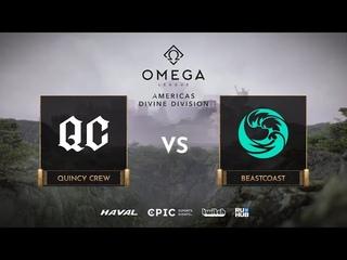 Quincy Crew vs beastcoast, OMEGA League: Americas, bo3, game 1 [Leх]