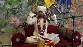 Матхура Бихари Шримад Бхагаватам  день четвёртый часть 2