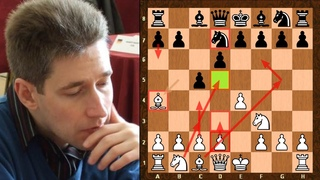 A British Alpha-Zero Style Chess Player ||  Michael Adams vs Stephen Gordon || British Ch (2019)