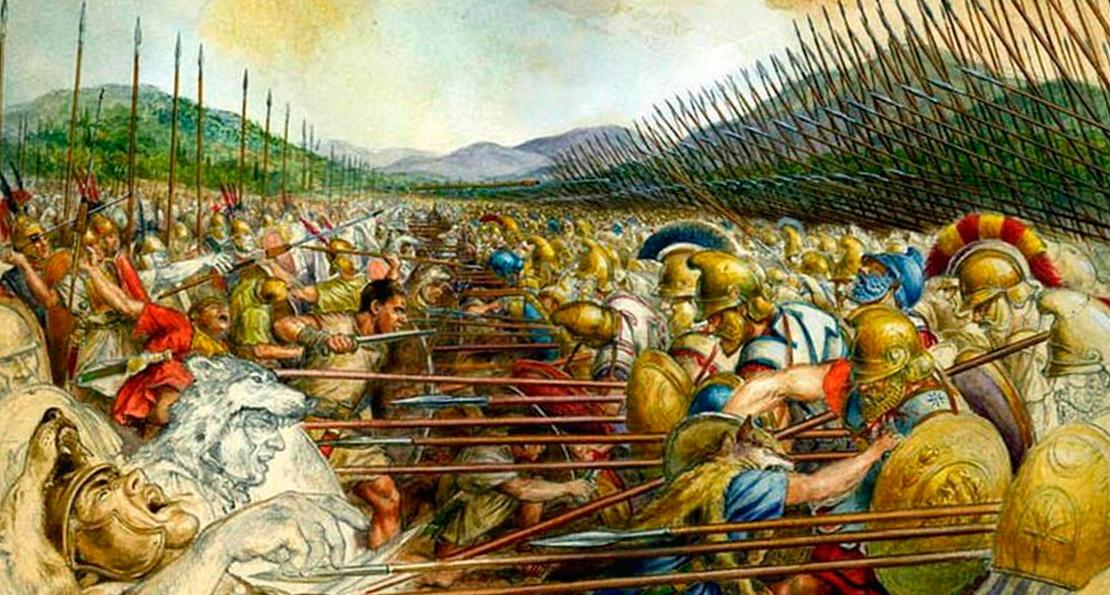 Фаланга против легиона