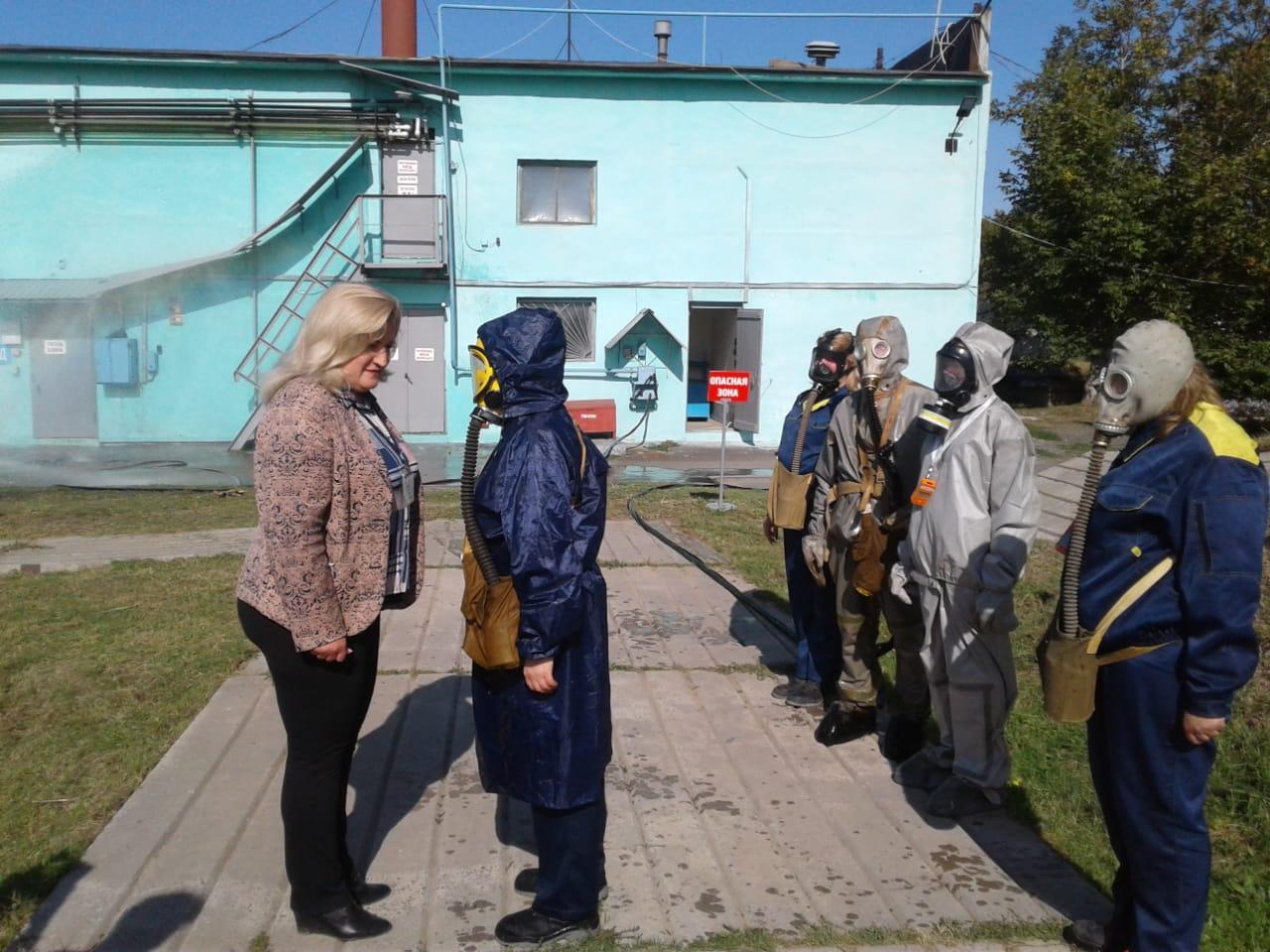 В Таганроге проходит 2 этап тренировки по гражданской обороне