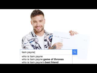 Liam Payne Answers the Web 39s Most Searched Questions WIRED [RUS SUB]