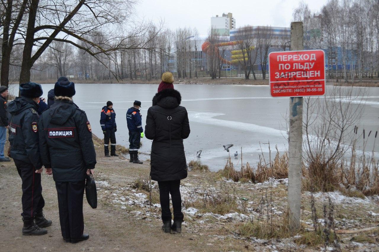 Утвержден перечень потенциально опасных участков водных объектов города Ярославля