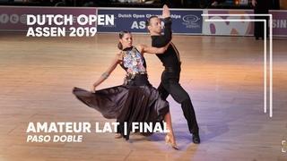 Alexander Chernositov - Arina Grishanina   2019 Dutch Open   Assen   Amateur LAT - F PD