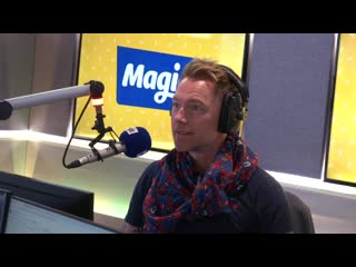 Ronan Keating tells Harriet about the time he forgot the words to Rollercoaster Magic Breakfast