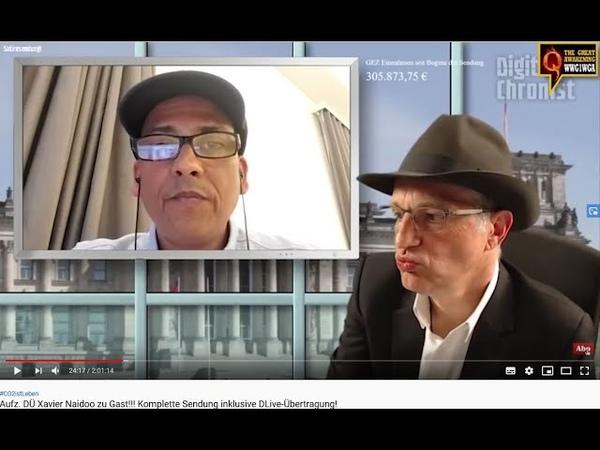 Xavier Naidoo bekennt sich offen zur Entnazifizierung GG139 Rüdiger Hoffmann wird abgewürgt…