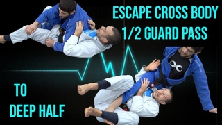 Cross body half guard recovery to deep half (Lachlan Giles and Ariel Tabak)