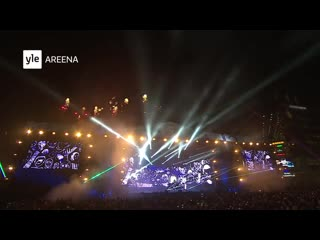 Darude sandstorm new year eve countdown (with fireworks in helsinki, finland)
