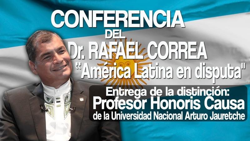 MASHI RAFAEL RECIBE EL RECONOCIMIENTO DE PROFESOR HONORIS CAUSA