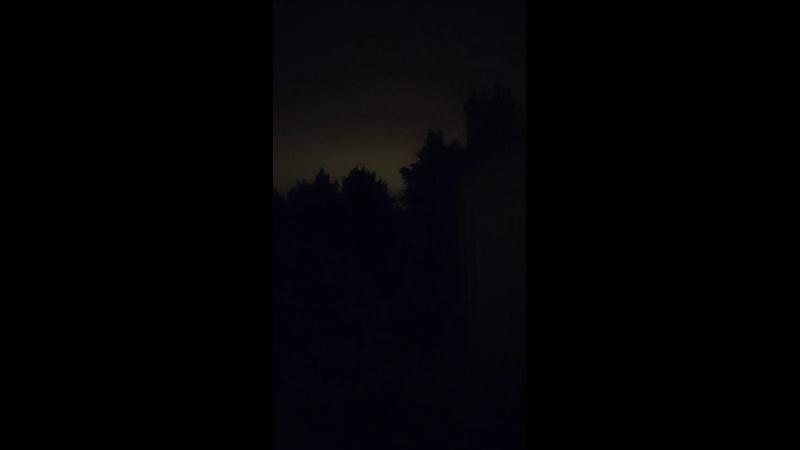 Orages dans le lointain Ouest IDF en approche
