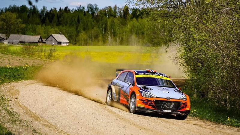Ott Tänak WRC Testing Estonia 2020