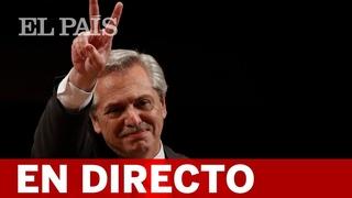 DIRECTO   ALBERTO FERNÁNDEZ asume la Presidencia de ARGENTINA