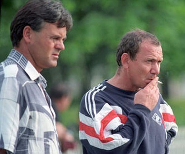 Григорий Есауленко и Олег Романцев