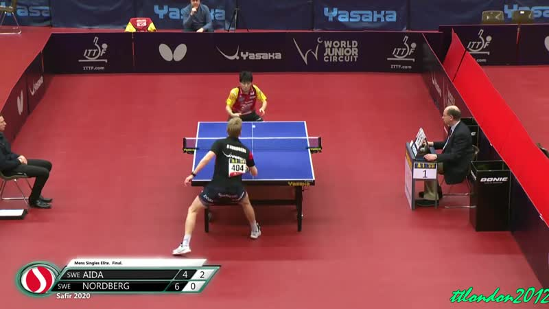 Satoshi Aida vs Hampus Nordberg MS FINAL Safir Open 2020