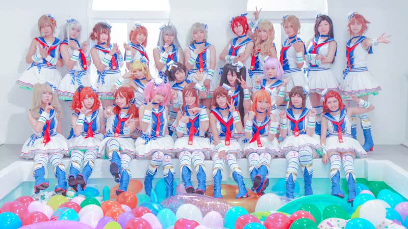 【デレマス】Paアイドル24人で「サマカニ!!」「SUN♡FLOWER」踊ってみた! 1080 x 1920 sm35588909