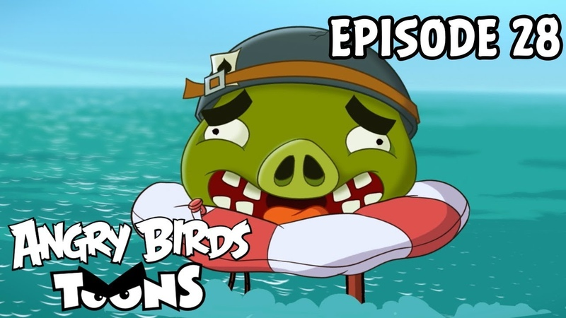 Angry Birds Toons Catch Of the Day S1 Ep28