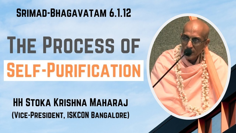 The Process of Self-Purification | HH Stoka Krishna Swami | SB 6.1.14 | 07-11-2019