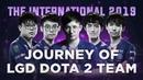 Journey of LGD Dota 2 at TI9 飞师傅