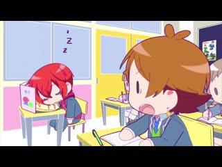 Деньки урашимасакатасэн школьная пора 6 серия (русская озвучка хз lol) / urashimasakatasen no nichi