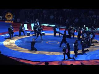 Официальное открытие Международного турнира по вольной борьбе