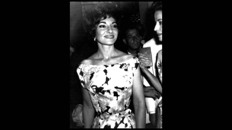 Libiam ne lieti calici La Traviata Maria Callas
