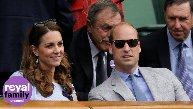 The Duke and Duchess of Cambridge Arrive at Wimbledon Ahead of the Men's Singles Final
