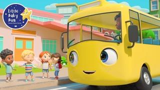 School Bus - Let's Go To School   +More Nursery Rhymes and Baby Songs   Kids Songs   Little Baby Bum