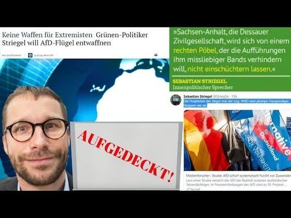 Aufgedeckt! Sebastian Striegel (B90/Die Grünen)